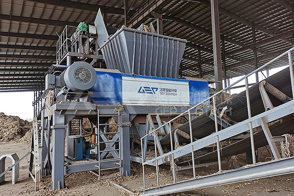 电厂生物质破碎机成套设备,生物质发电厂燃料破碎机项目案例